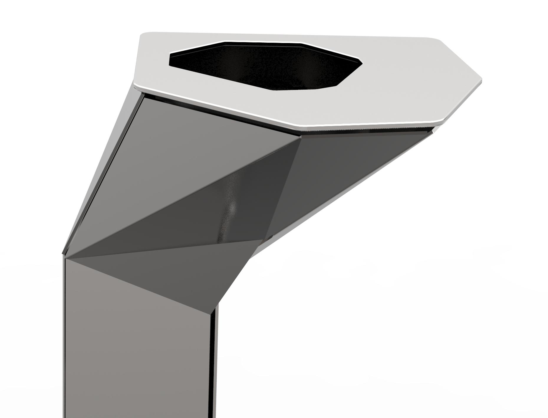 cendrier mobilier urbain design franck magné cendrier à sable