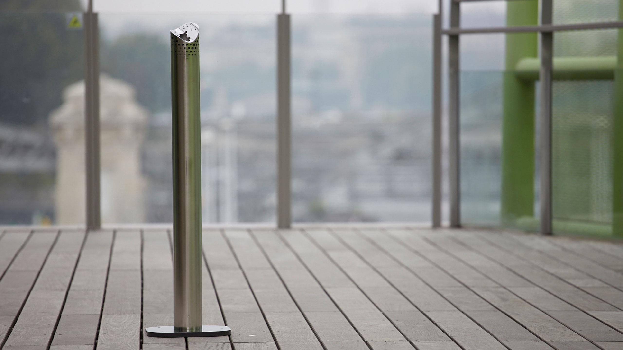 Manques cendrier objets publics design franck magné mobilier urbain