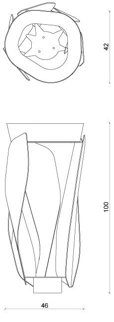 corbeille Lif poubelle mobilier urbain design franck magné objets publics