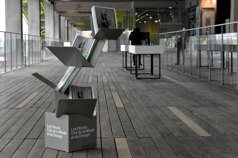 Support magazine la cité du design les dock franck magné objets publics mobilier urbain