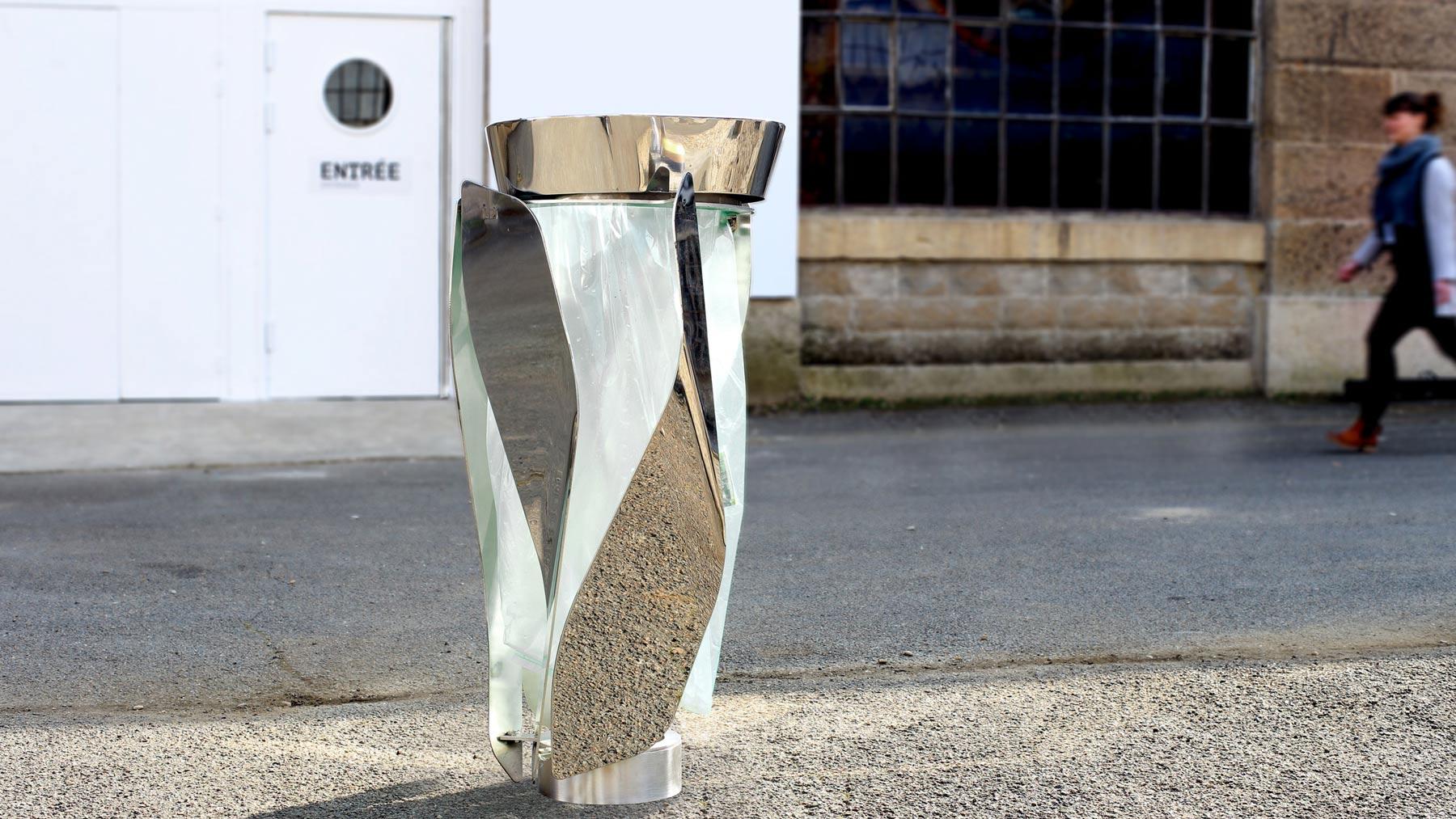 objets publics corbeille poubelle publique lif design franck magné mobilier urbain design