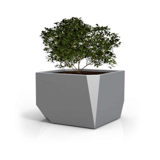 bac à plantes objets publics mobilier urbain design Franck Magné
