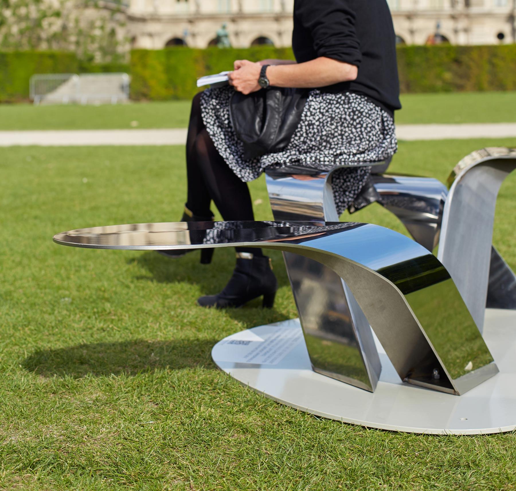 objets publics herbes folles banc public design franck magné mobilier urbain design