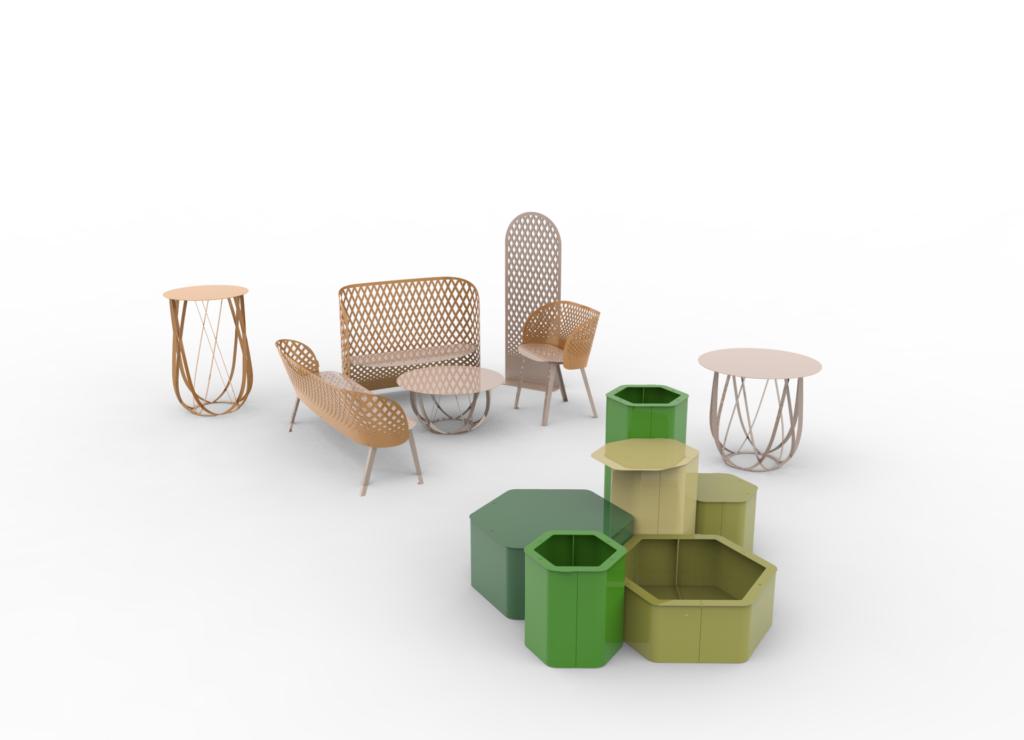 objets publics mobilier urbain design Urbest