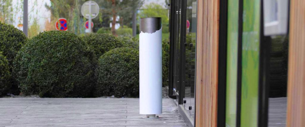cendrier feu mobilier urbain design banc public design francs magné objetspublics