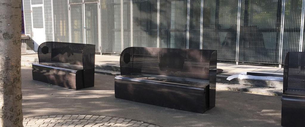 objets publics glean mobilier urbain design