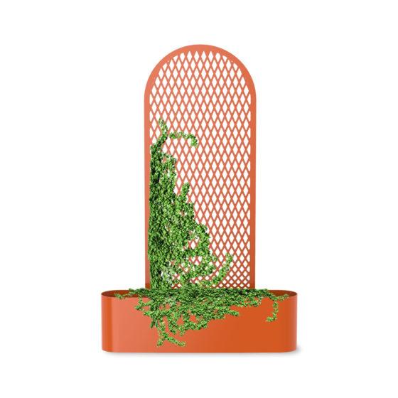 bac à végétaux croisements mobilier urbain design jardinière public design francs magné objetspublics