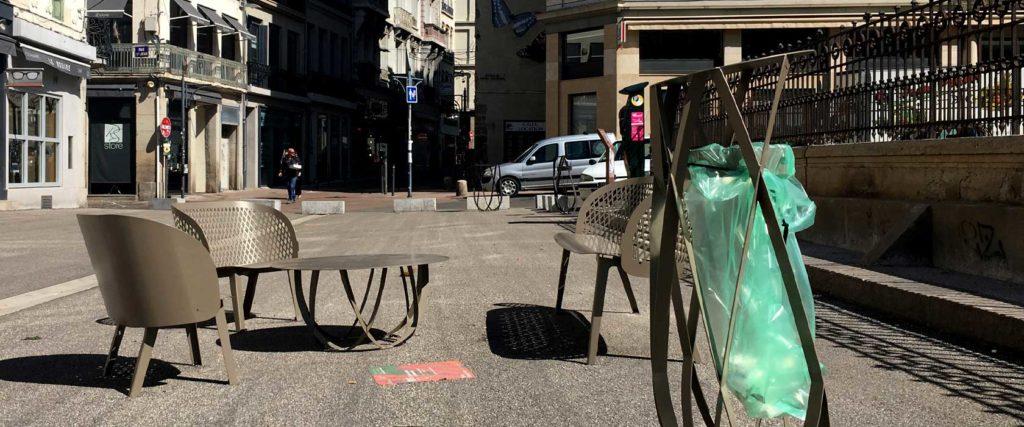 collection croisements design banc public design francs magné objetspublics