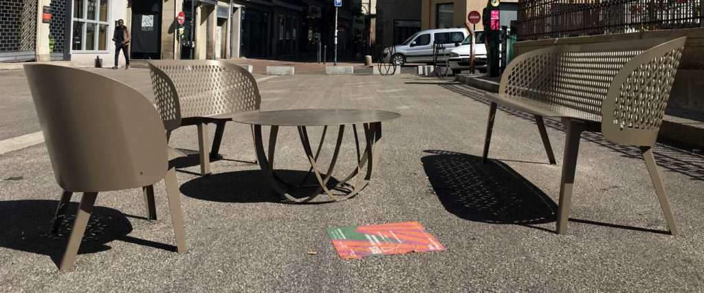 collection croisements design banc public design francs magné objetspublics