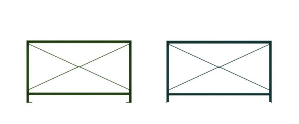barrière CSA croix de saint André Cité 150x90 mobilier urbain design francs magné objetspublics