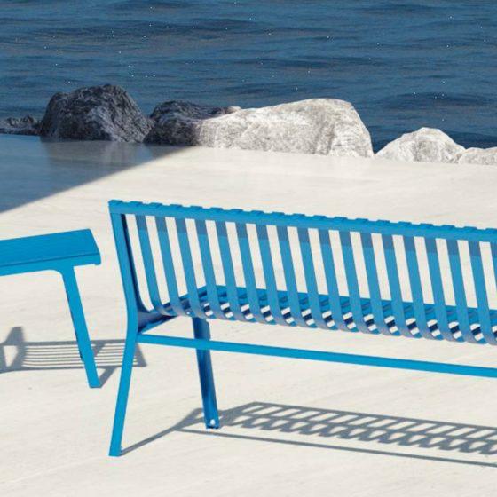 objets publics mobilier urbain design street furniture bench bin