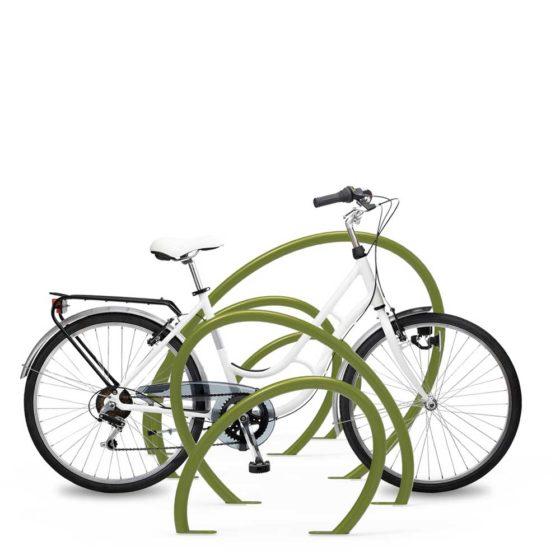 objets publics parc vélo design mobilier urbain