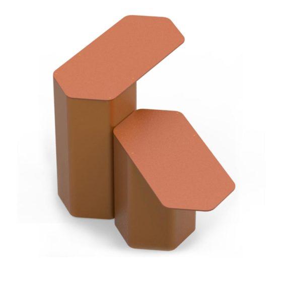 objets publics table hexa design franck magné