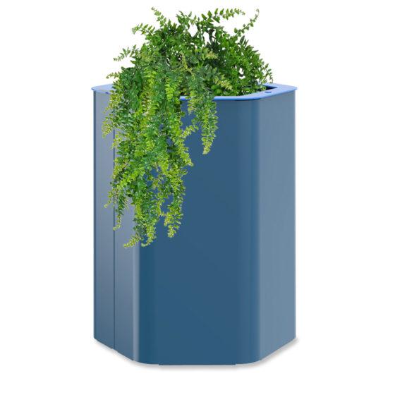 bac à végétaux M hexa objetspublics design urbain jardinère