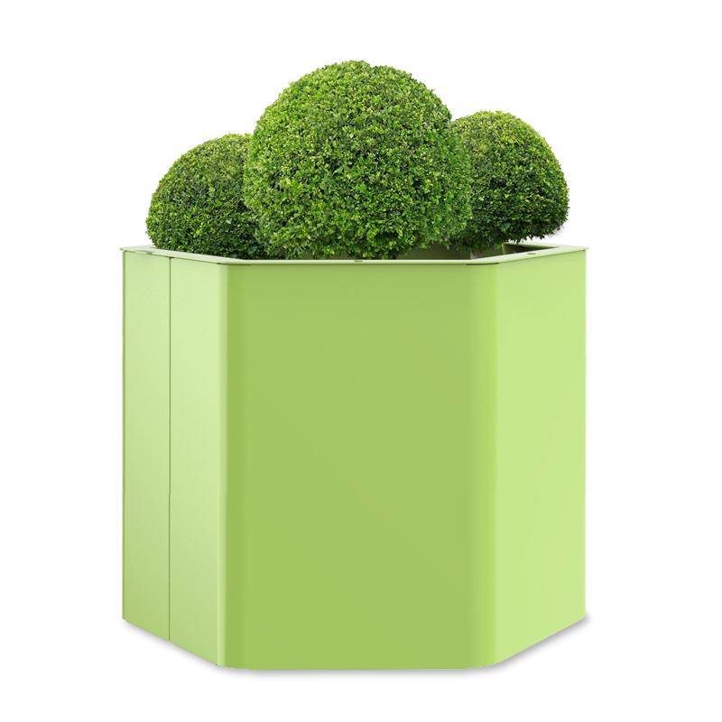 bac à végétaux XL hexa objetspublics design urbain jardinère