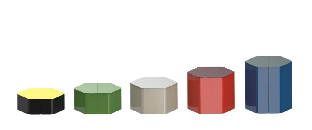assises hexa xl mobilier urbain design banc public design francs magné objetspublics