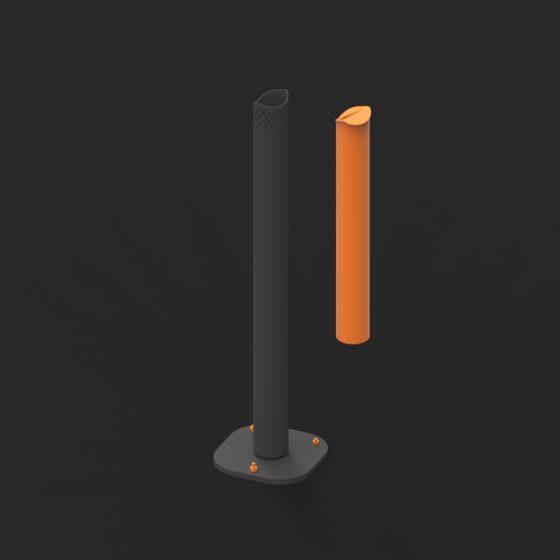 cendrier manques 2 urbain design public design francs magné objetspublics