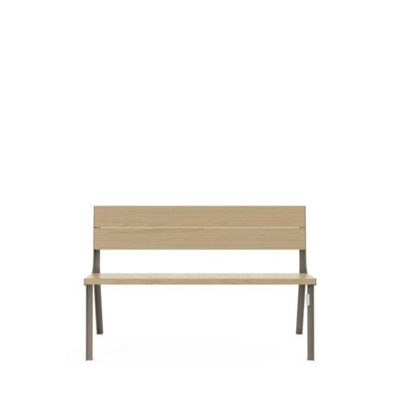 objets publics banc design cite bois street furniture