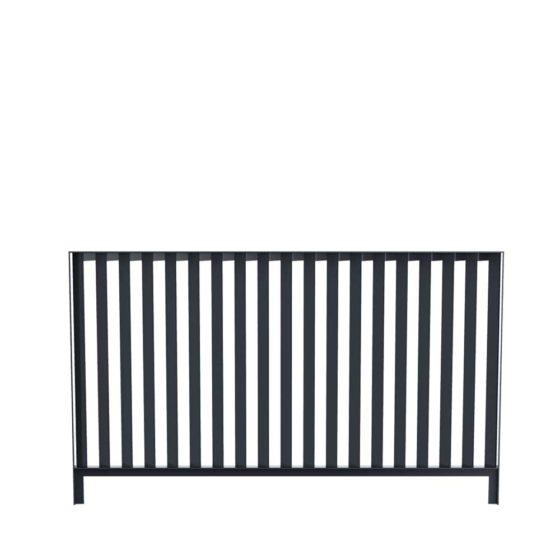 barrière Inclinée 150x90 mobilier Cité urbain design francs magné objetspublics