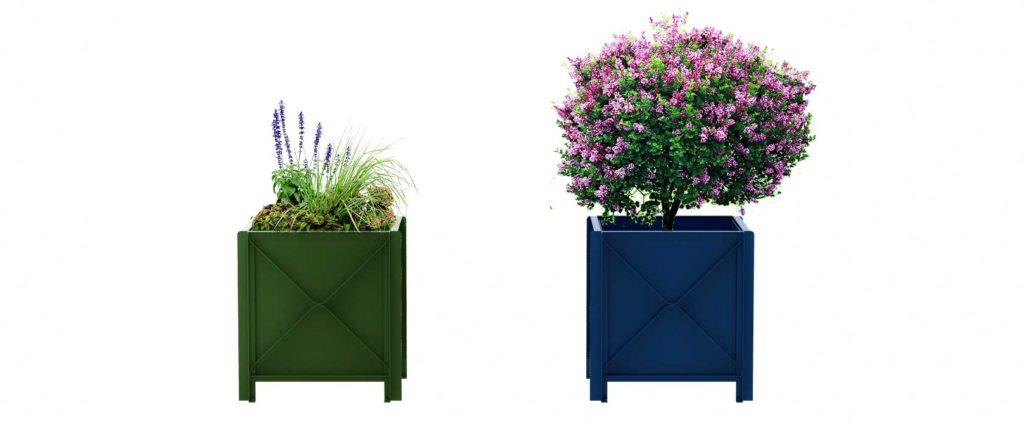 bac à végétaux bac à orange cité jardinière urbain design francs magné objetspublics