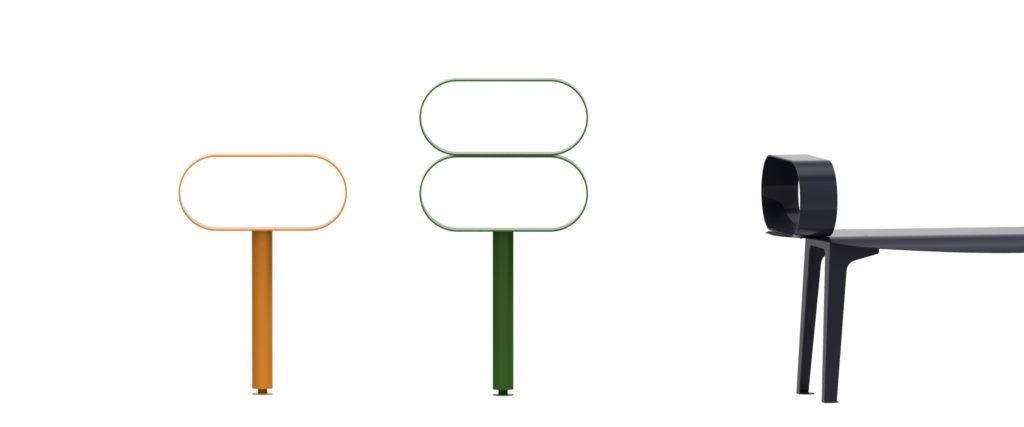 équipements sportifs arceaux croisements mobilier urbain design design francs magné objetspublicsdesign banc public design francs magné objetspublics